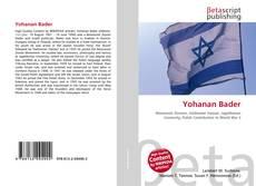 Copertina di Yohanan Bader