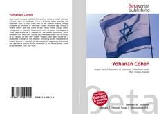 Yohanan Cohen kitap kapağı