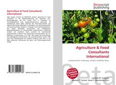 Обложка Agriculture & Food Consultants International