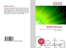 Capa do livro de Walter Hancock