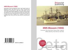 Buchcover von HMS Blossom (1806)