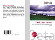 Bookcover of Podocarpus Rubens