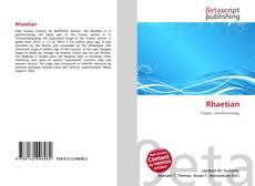 Bookcover of Rhaetian