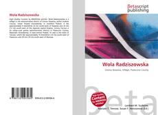Обложка Wola Radziszowska