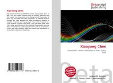 Bookcover of Xiaoyong Chen