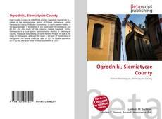 Portada del libro de Ogrodniki, Siemiatycze County