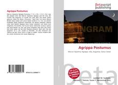 Bookcover of Agrippa Postumus