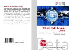 Couverture de Release Early, Release Often
