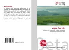 Buchcover von Agrochemie