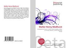 Bookcover of Walter Henry Medhurst