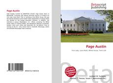 Bookcover of Page Austin