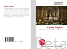 Agnete Fingerin kitap kapağı
