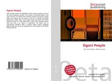 Bookcover of Ogoni People