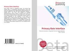 Buchcover von Primary Rate Interface
