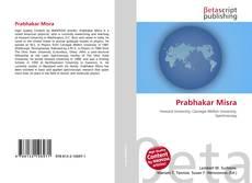 Bookcover of Prabhakar Misra