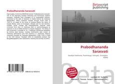 Portada del libro de Prabodhananda Sarasvati