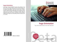Couverture de Page Orientation