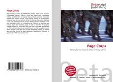 Buchcover von Page Corps