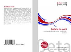 Bookcover of Prabhash Joshi