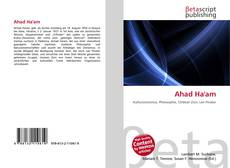 Buchcover von Ahad Ha'am