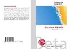 Copertina di Rhamnus Alnifolia
