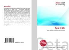 Buchcover von Rob Erdle