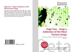 Page Two – Sings a Collection of Her Most Famous Songs的封面