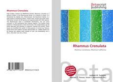 Couverture de Rhamnus Crenulata