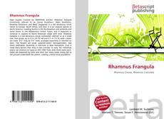 Couverture de Rhamnus Frangula