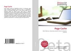 Buchcover von Page Cache