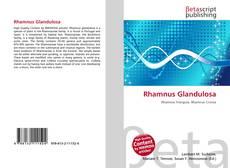 Couverture de Rhamnus Glandulosa