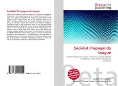 Portada del libro de Socialist Propaganda League