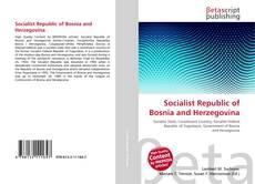 Обложка Socialist Republic of Bosnia and Herzegovina