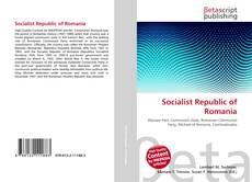 Bookcover of Socialist Republic of Romania