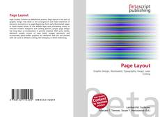Bookcover of Page Layout