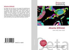 Buchcover von Ahanta (Ethnie)