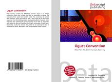 Bookcover of Ogust Convention