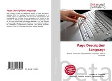 Capa do livro de Page Description Language