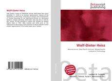 Bookcover of Wolf-Dieter Heiss