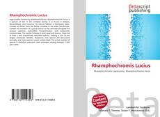 Bookcover of Rhamphochromis Lucius