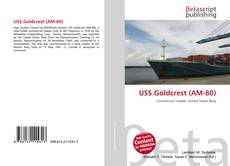Bookcover of USS Goldcrest (AM-80)