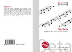 Buchcover von Paghilom