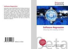 Bookcover of Software Regression