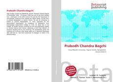 Prabodh Chandra Bagchi的封面