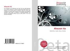 Buchcover von Ahauser Aa
