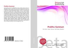 Bookcover of Prabhu Ganesan