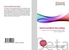 Bookcover of Saint-Lambert-du-Lattay