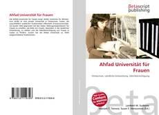 Couverture de Ahfad Universität für Frauen