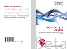 Bookcover of Socialist Party of Lithuania