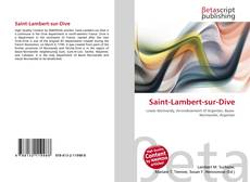 Bookcover of Saint-Lambert-sur-Dive